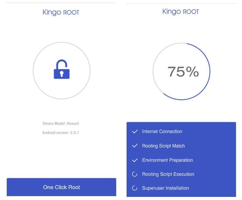 root Samsung Galaxy J2 Prime tanpa PC menggunakan KingoRoot