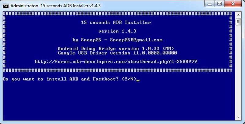 Cara Install ADB Fastboot