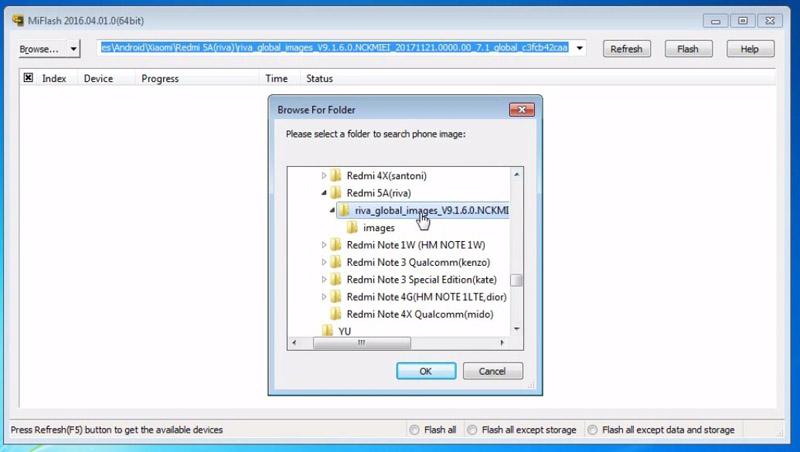 Flash Redmi 5a Matot Browse Firmware