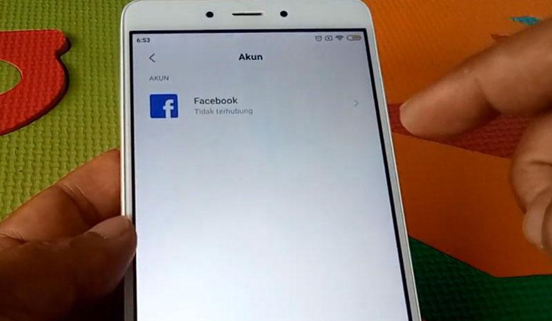 Mi Akun Lupa Password FB