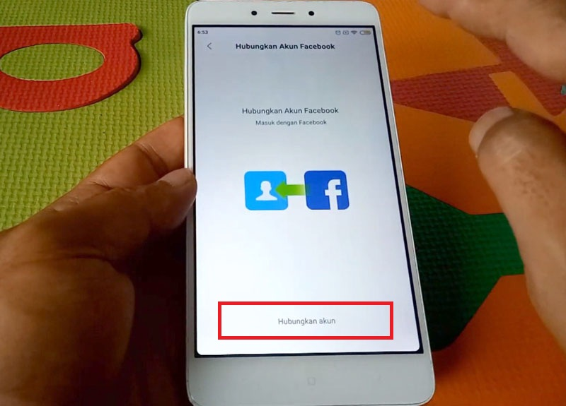 Mi Akun Lupa Password Hubungkan Facebook