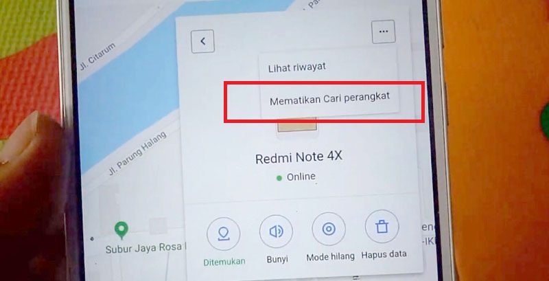 Mi Akun Lupa Password mi Akun Micloud Mamatikan cari Perangkat