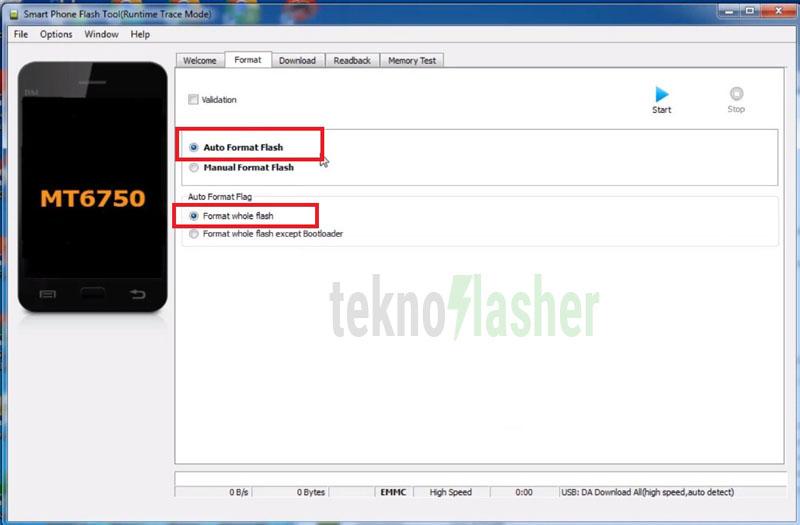 OPPO A71 Format Flashtool