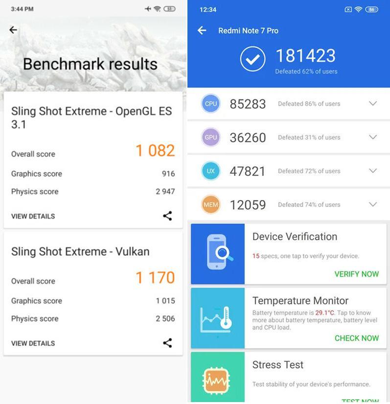 Redmi Note 7 Pro Antutu