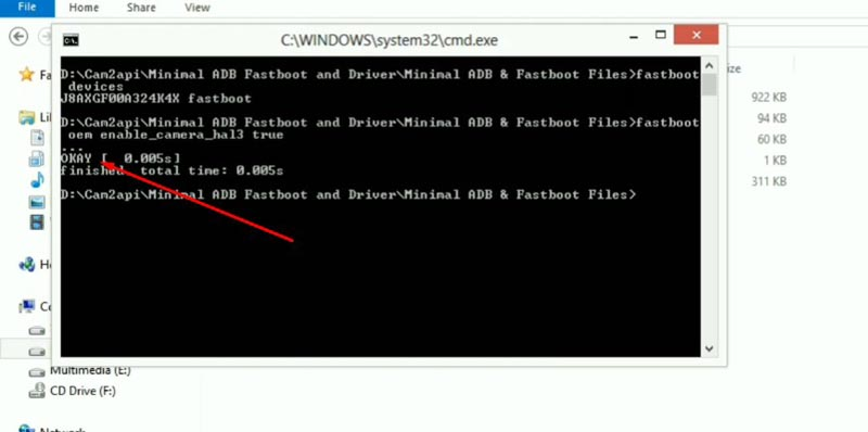 GCAM MAX PRO M2 ADB Fastboot CMD Enable Camera2 API