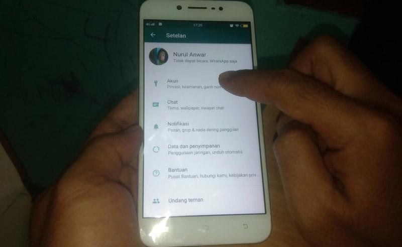 Install WhatsApp Dark Mode Setelan