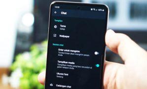 Mengaktifkan WhatsApp Dark Mode tanpa Root