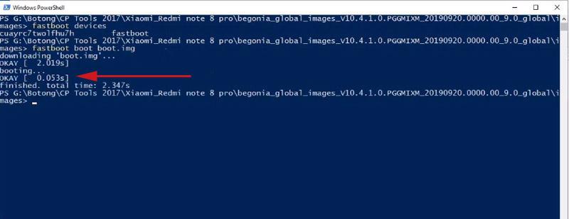 Redmi Note 8 Pro Bootloop fastboot bootimg