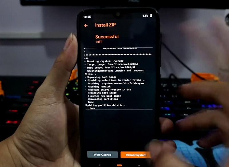 TWRP Redmi Note 7 OrangeFox Disable Dm Verity