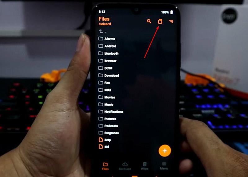 TWRP Redmi Note 7 OrangeFox install file