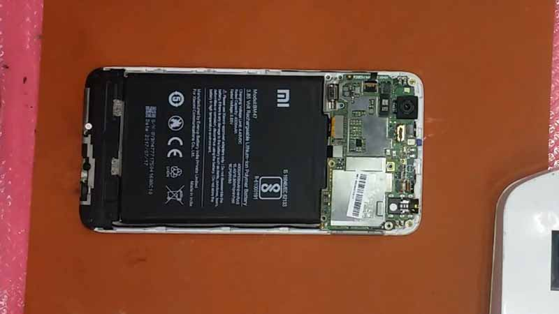 Fix Sensor Redmi 4x Buka mesin