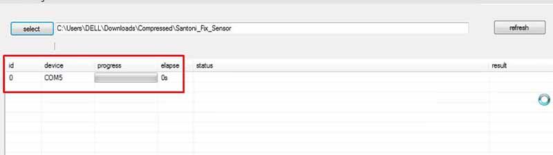 Fix Sensor Redmi 4x COM5