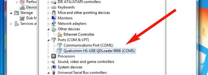 Fix Sensor Redmi 4x Qualcomm HS-USB QDLoader
