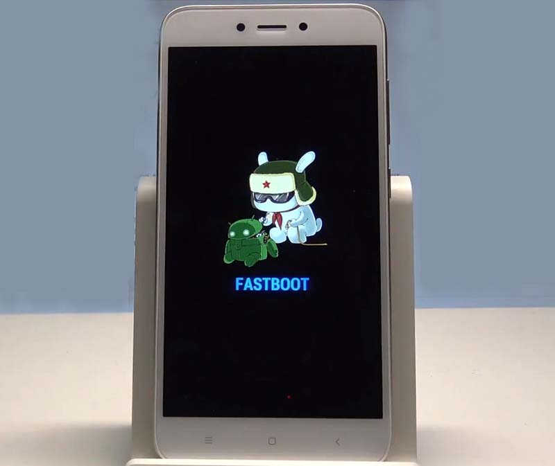 TWRP REDMI 5a Fastboot