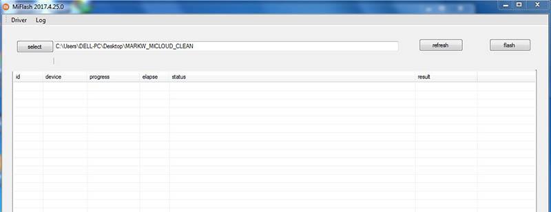 Redmi 4 Prime Terkunci Akun Mi Clean File