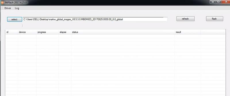 Redmi 4 Prime Terkunci Akun Mi MiFlash downgrade