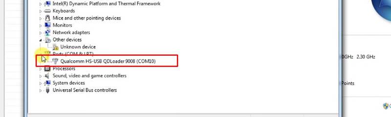 Redmi 4 Prime Terkunci Akun Mi QDLoader 9008