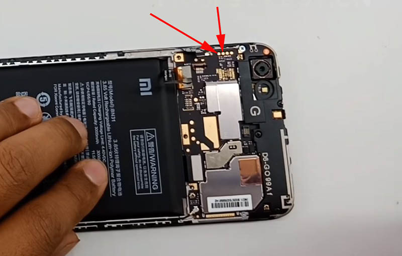 Redmi Note 5a Fix Wifi Test Point