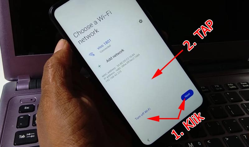 Bypass Akun Google Samsung Android 10 Wifi-Next