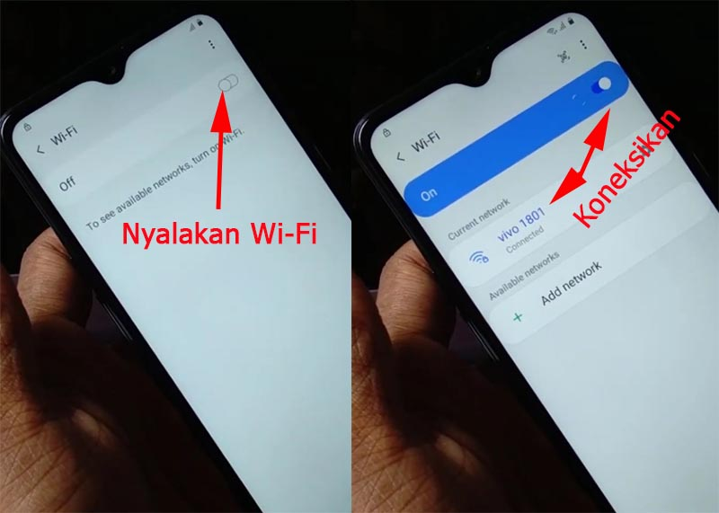 Bypass Akun Google Samsung Android 10 Wifi On