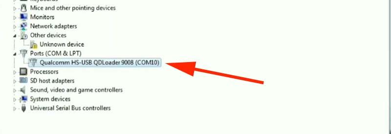 Fix Mi Cloud Redmi 4a Test Point driver