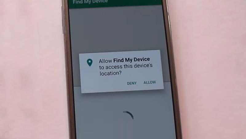 Hapus Pola HP OPPO Pancingan Google find my phone Allow