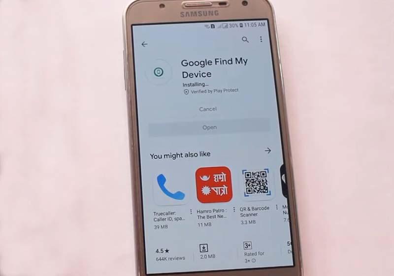Hapus Pola HP OPPO Pancingan Google find my phone