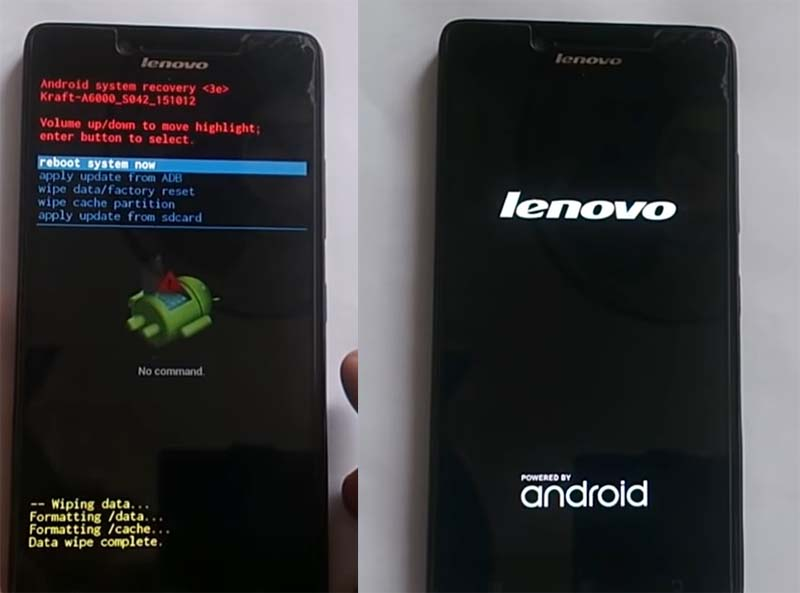 Mengatasi Lenovo A6000 Bootloop Recovery wife data complete