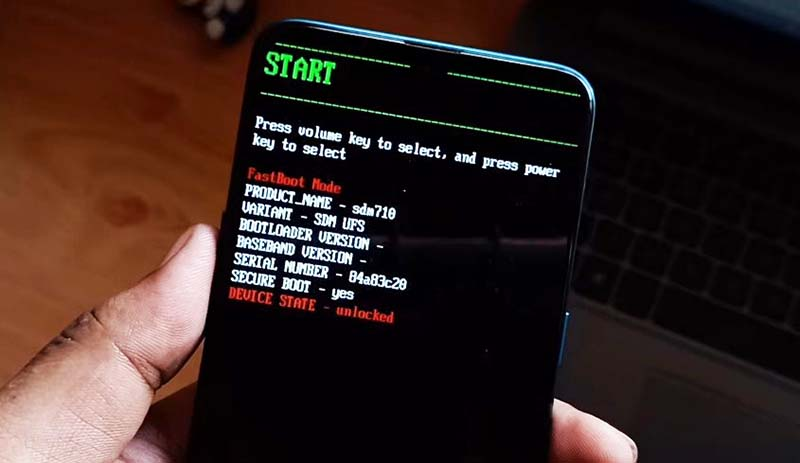 TWRP Root Realme 5 Pro Fastboot