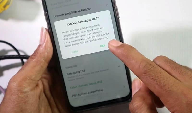 UBL Realme 5 pro Debugging USB