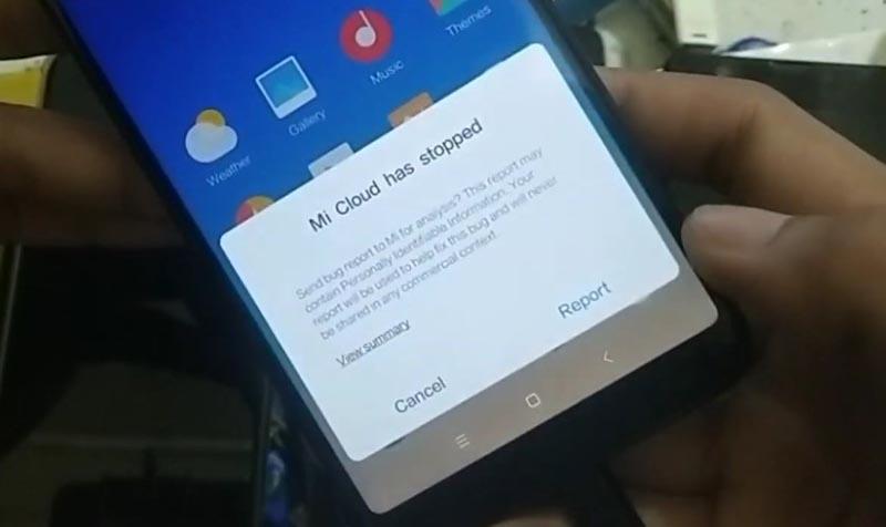 Bypass Mi Akun Xiaomi Mi 6x Mi cloud stopped