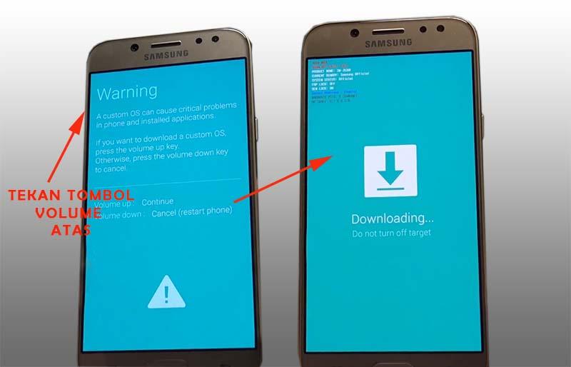 FRP Samsung J5 2016 Download Mode
