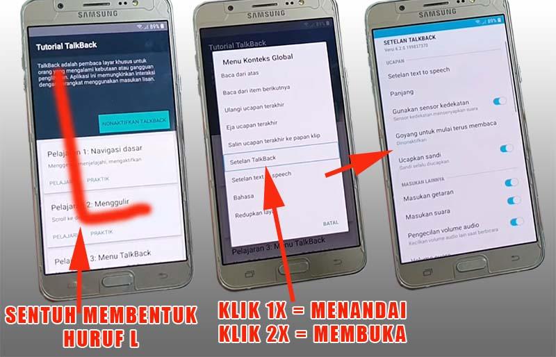 FRP Samsung J5 2016 Tanpa PC Setelan Talkback