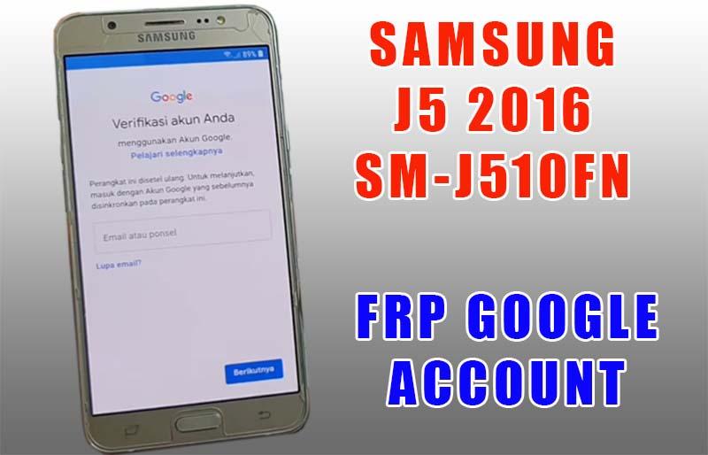 FRP Samsung J5 2016