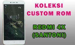Install Custom ROM Redmi 4x