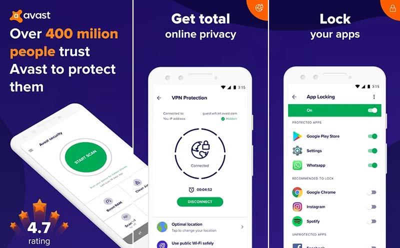 Avast Antivirus Android Terbaik