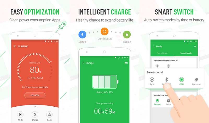 Go Battery Pro Aplikasi Penghemat Baterai Android Terbaik