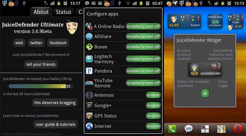 Juice Defender Aplikasi Penghemat Baterai Android Terbaik