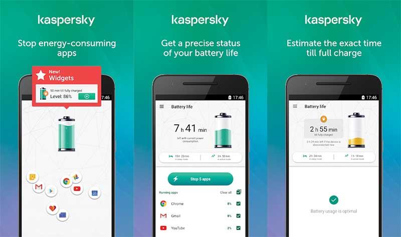 Kaspersky Baterai Life Aplikasi Penghemat Baterai Android Terbaik