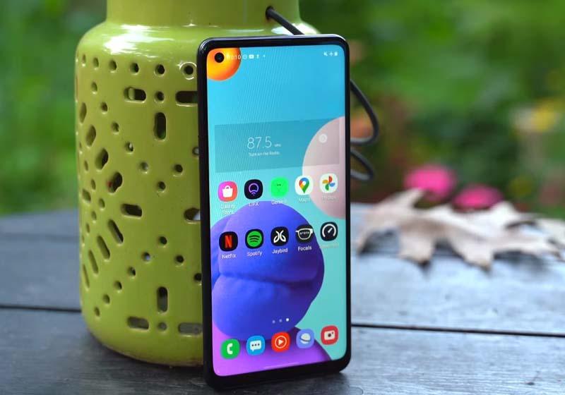 Review Layar Samsung Galaxy A21s
